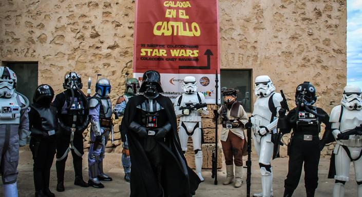 Exposición Toda la Galaxia en el Castillo