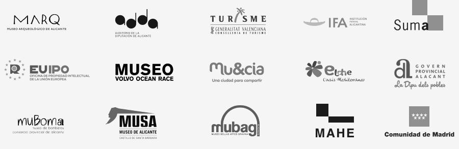 Logos clientes Esatur Servicios